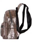 Купить Женский рюкзак 63-8-1 иск.кожа бронза недорого