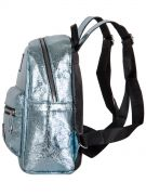 Купить Женский рюкзак 63-8-1 иск.кожа голубой недорого