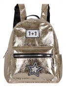 Купить Женский рюкзак 63-8-1 иск.кожа золотой недорого