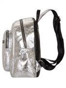 Купить Женский рюкзак 63-8-2 серебренный недорого