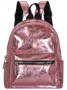Купить Женский рюкзак 63-8-5 розовый недорого