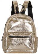 Купить Женский рюкзак 63-8-5 золотой недорого