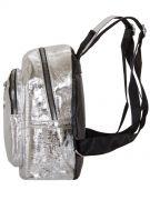 Купить Женский рюкзак 63-8-3 серебренный недорого
