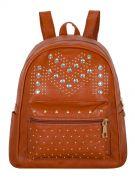 Купить Женский рюкзак 63-6607 иск.кожа коричн. недорого