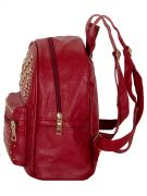Купить Женский рюкзак 63-6607 иск.кожа бордовый недорого