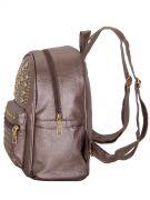 Купить Женский рюкзак 63-6607 иск.кожа бронза недорого