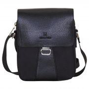 Купить Мужская сумка L-123-2 (черный) недорого