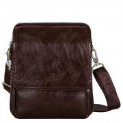 Купить Мужская сумка L-55-2 (коричневый) недорого