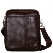 Купить Мужская сумка L-60-2 (коричневый) недорого