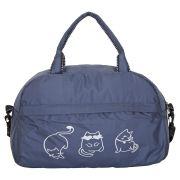 Купить Спортивная сумка №14 Кошки Серый недорого