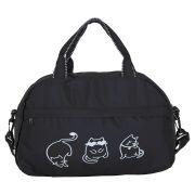 Купить Спортивная сумка №14 Кошки Черный недорого