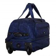 Купить Сумка на колесах м-16 st-wash, синий недорого