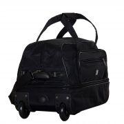 Купить Сумка на колесах м-16 st-wash, черный недорого