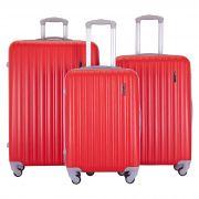 Купить Комплект Чемоданов СЧП-2060 красный недорого
