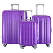 Купить Комплект Чемоданов СЧП-2060 фиолетовый недорого
