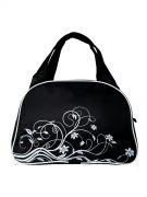 Купить Спортивная сумка 4195 черно/белый недорого