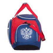 Купить Сумка дорожная 4123 Россия, сине-бело-красный недорого