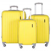 Купить Комплект Чемоданов СЧП-2060 желтый недорого
