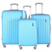 Купить Комплект Чемоданов СЧП-2060 светло-голубой недорого