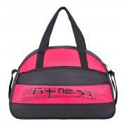 Купить Спортивная сумка 1451 черно-малиновый недорого