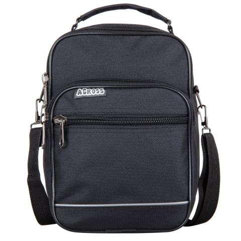 5fe7e3ec80f3 ОПИСАНИЕ: Практичная мужская сумка из текстиля. Сумка снабжена удобным  плечевым ремнем на карабине. Ремень легко и быстро отстегивается при  необходимости, ...