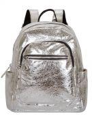 Женский рюкзак 63-8-2 серебренный