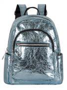 Женский рюкзак 63-8-2 голубой