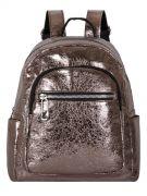 Женский рюкзак 63-8-2 бронзовый