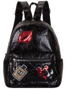 Женский рюкзак 63-8-9 черный