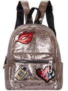 Женский рюкзак 63-8-9 бронза