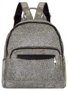 Рюкзак 6611 иск.кожа серый