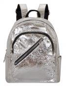 Женский рюкзак 63-8-3 серебренный