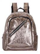 Женский рюкзак 63-8-3 бронзовый