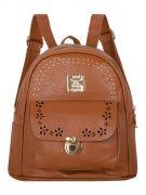 Женский рюкзак 63-6004 коричневый