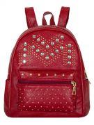 Женский рюкзак 63-6607 иск.кожа бордовый