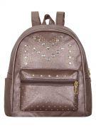 Женский рюкзак 63-6607 иск.кожа бронза