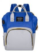 Сумка-рюкзак LTS серо-синий
