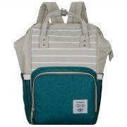 Женский рюкзак тал-6500, серо-мята