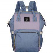 Женский рюкзак тал-6500, сиренево-голубой