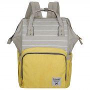 Женский рюкзак тал-6500, серо-желтый
