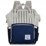 Женский рюкзак тал-6500, синий/с.серый