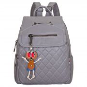 Женский рюкзак тал-1335, серый