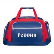 Сумка дорожная 4123 Россия, сине-бело-красный