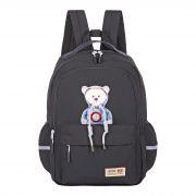 Молодежный рюкзак S126 черный